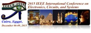 IEEE International Conference on Electronics, Circuits, and Systems (ICECS2015)
